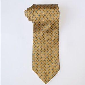 Brooks Basic   Neck Tie 100% Silk Vintage